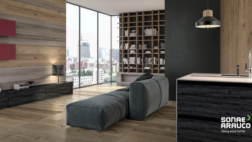 Living Room by Sonae Arauco