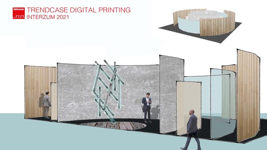 interzum Trend Case Digitaldruck