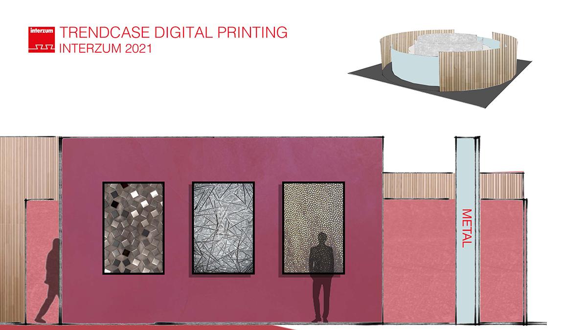 Metal - Digital Printing at interzum 2021