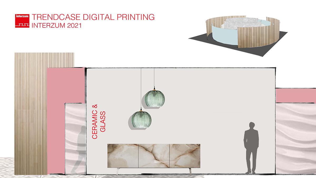 ceramic and glass - Digital Printing at interzum 2021