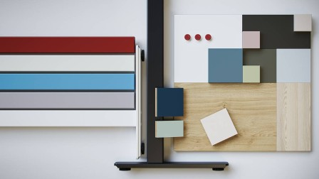 Häfele JobTisch - Semi-finished products for office furniture