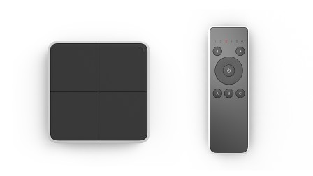Häfele Connect Mesh with wall switch and remote control