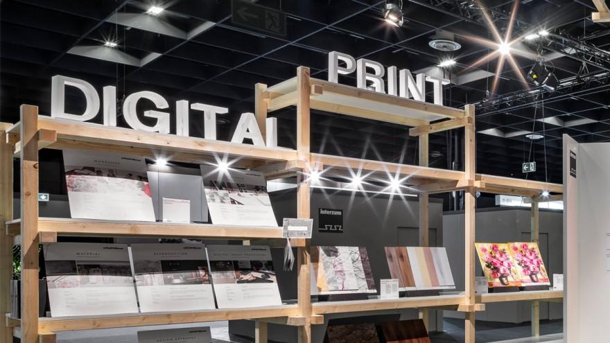 Digital Printing at furniture and fabrics