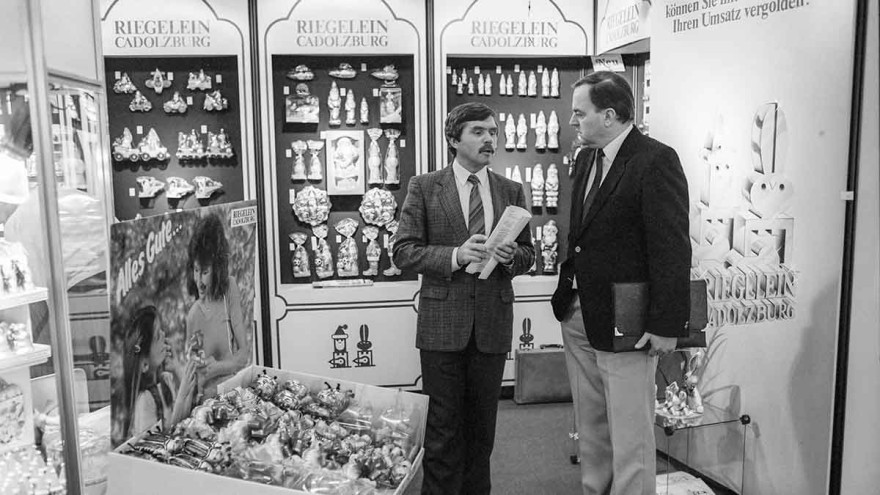 In 1986, product variety was the focus of the trade fair presentation at ISM