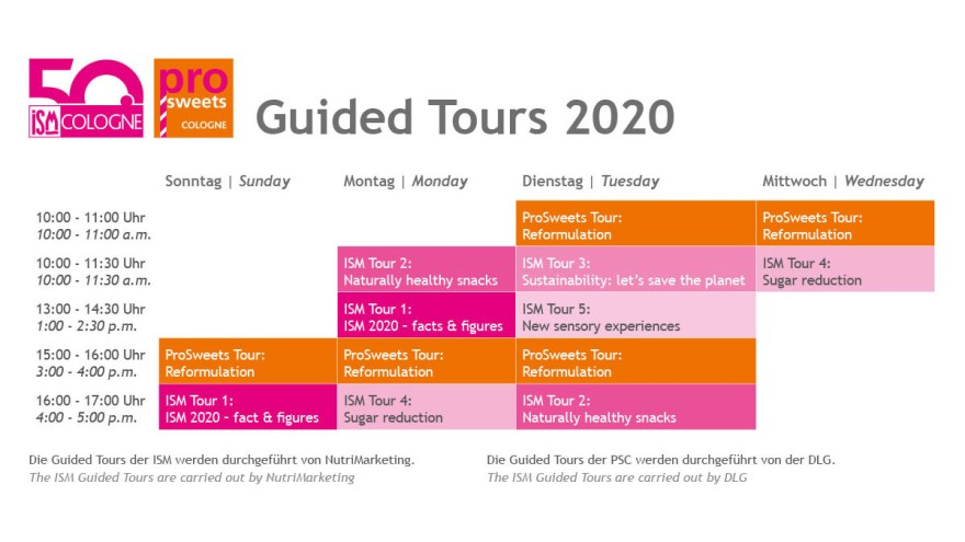 ISM Guided Tours