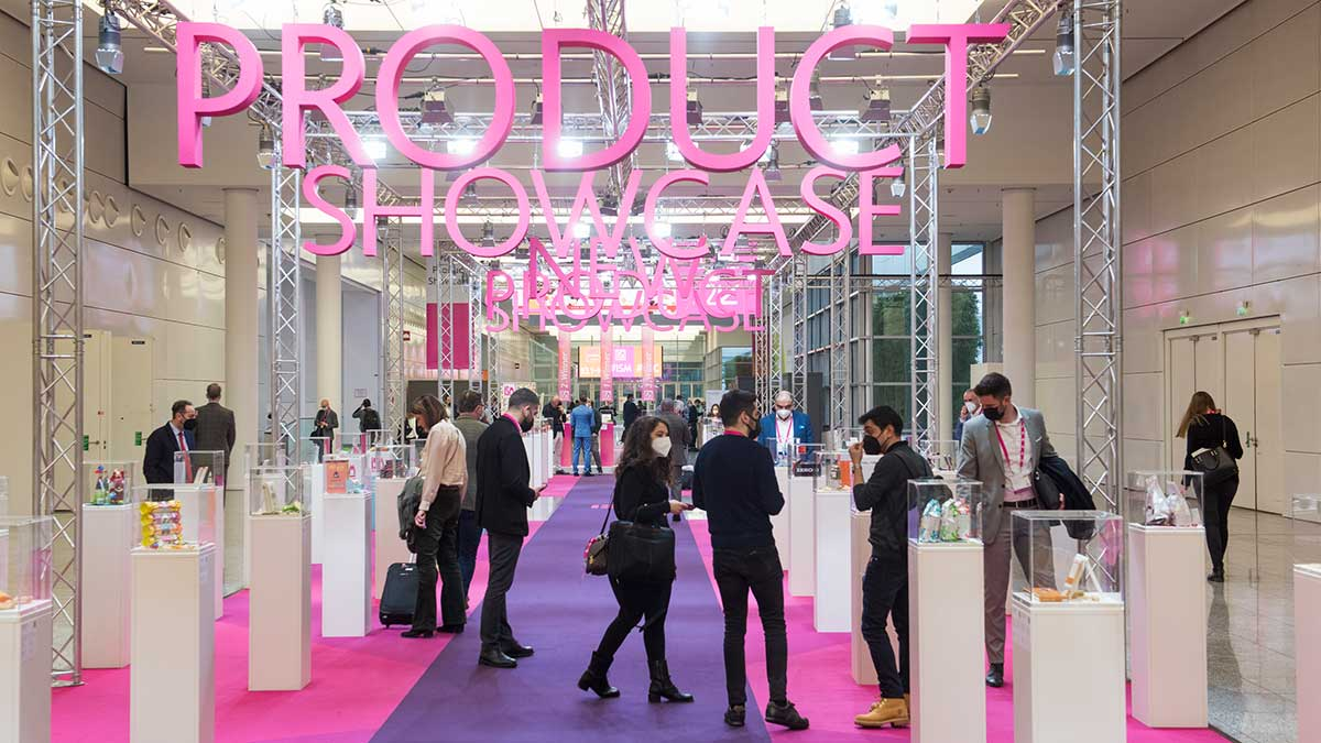 ISM New Product Showcase Fläche