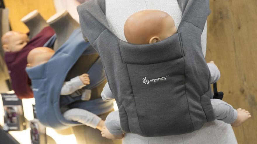 Ergobaby carrier presented at Kind + Jugend 2019
