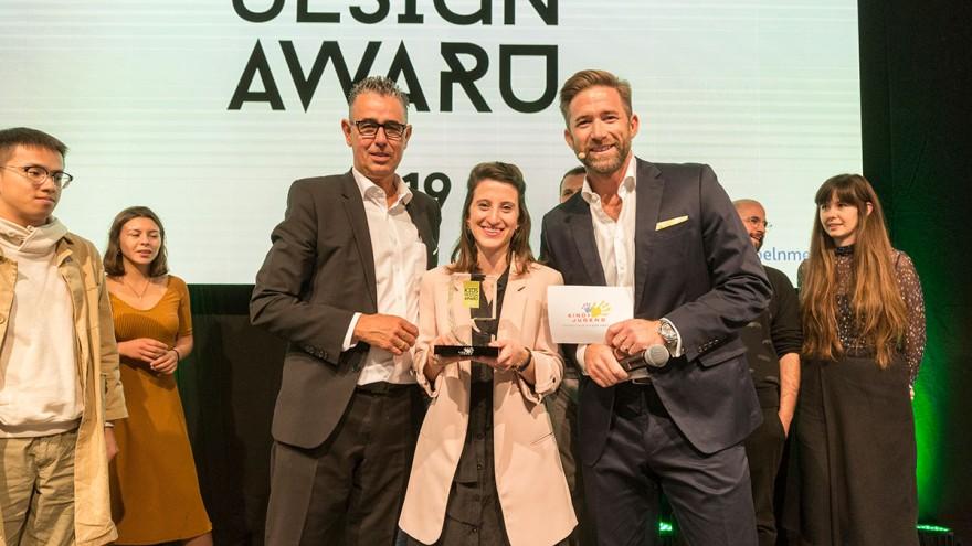 Yaara Nusboim winner of the Kids Design Award 2019