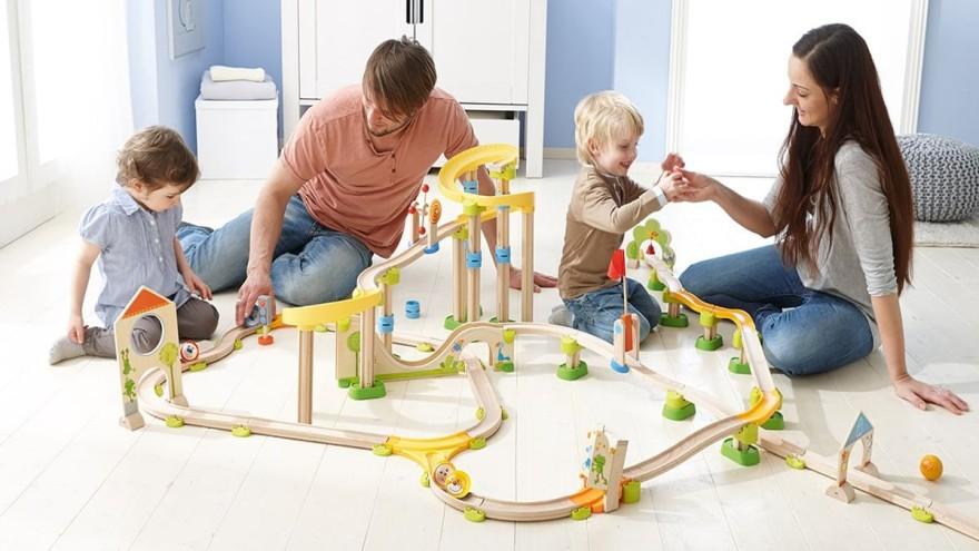 Spielzeug HABA Kullerbü Kugelbahn