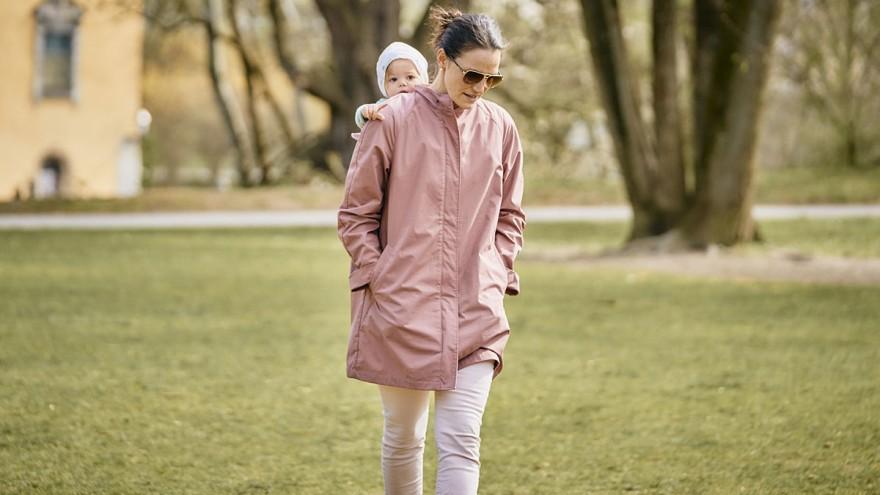 "Eco year-round jacket ""Mein Tragling"" by mamalila"