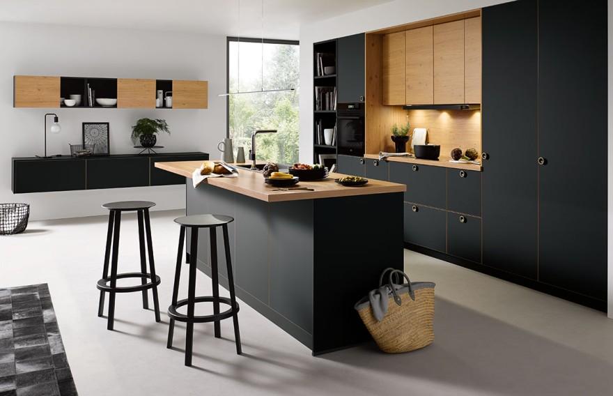 Das neue Programm Strato Matt von Schüller Küchen
