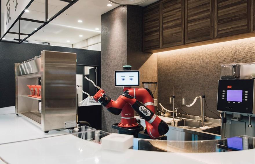 FutureKitchen-Trend FutureTechnology - Barista Sawyer