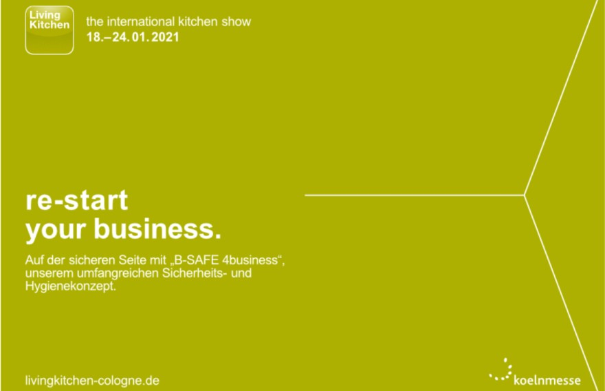 LivingKitchen 2021 - Restart your Business