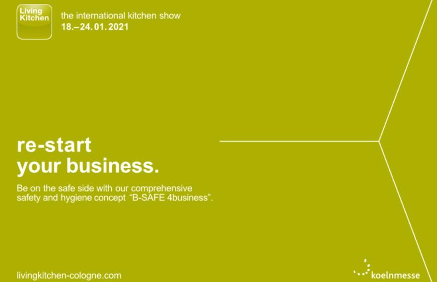 LivingKitchen 2021 - Restart your business