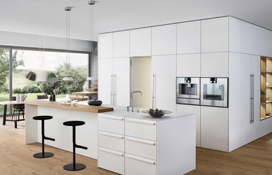 Foto Raum-in-Raum-Konzept von Leicht Küchen