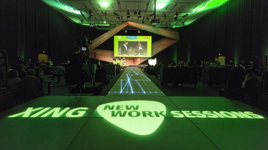 New Work Sessions XING auf der ORGATEC