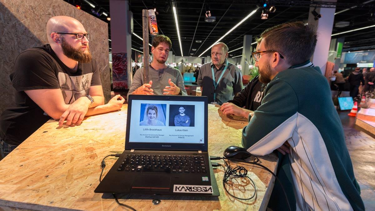 Start up Unternehmen präsentieren Prototypen | photokina