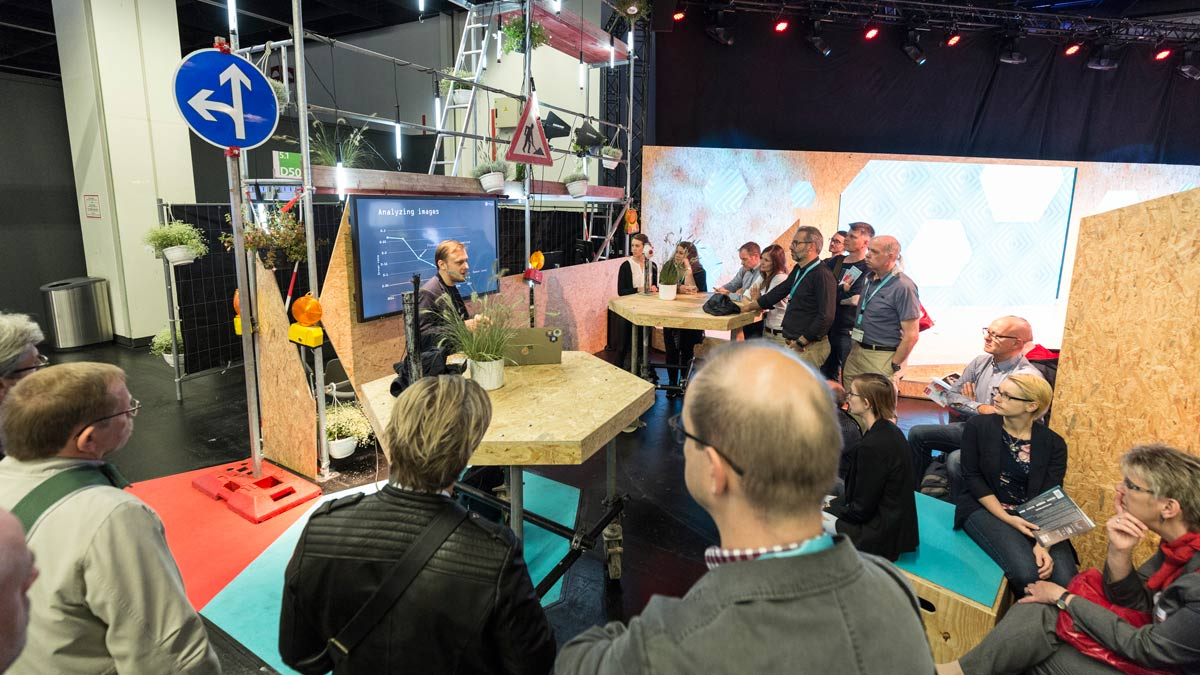 Start-up companies present prototypes | photokina