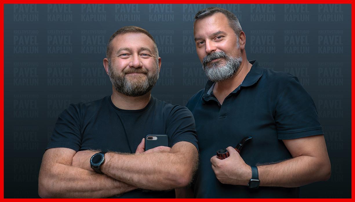 Pavel Kaplun und Miho Brisima