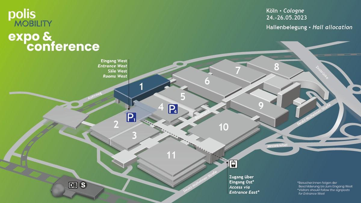 Hall plan polisMOBILITY 2022