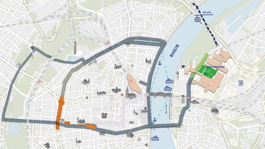 Stadtplan polisMOBILITY