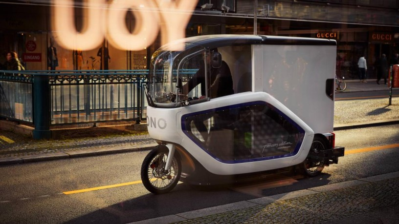 E-Cargo-Bike ONO © Audi Janine Graubaum