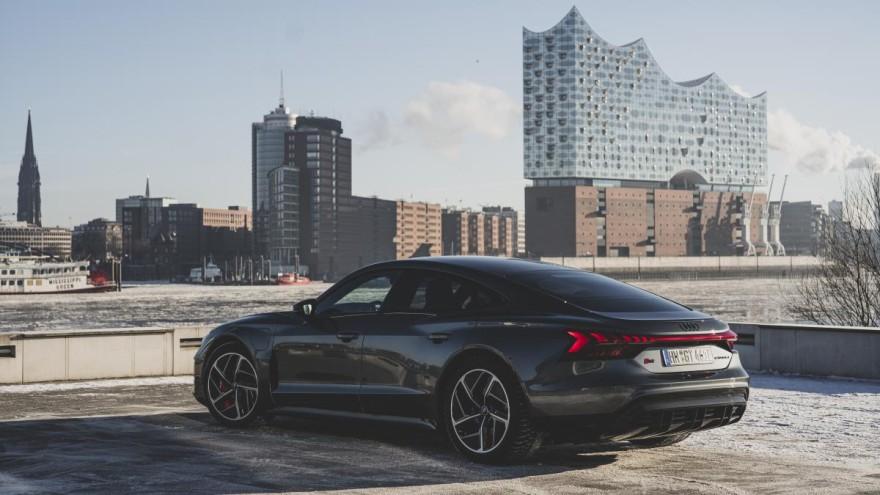 The Audi e-tron GT. © Audi