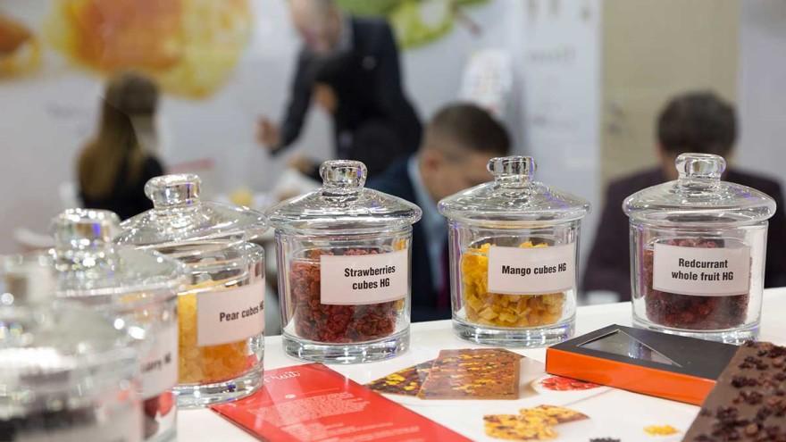 ProSweets Cologne Aussteller Cesarin stellt getrocknete Ingredients für gesunde Snacks vor