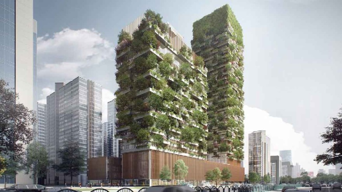Stefano Boeri: Nanjing Vertical Forest © Stefano Boeri Architects
