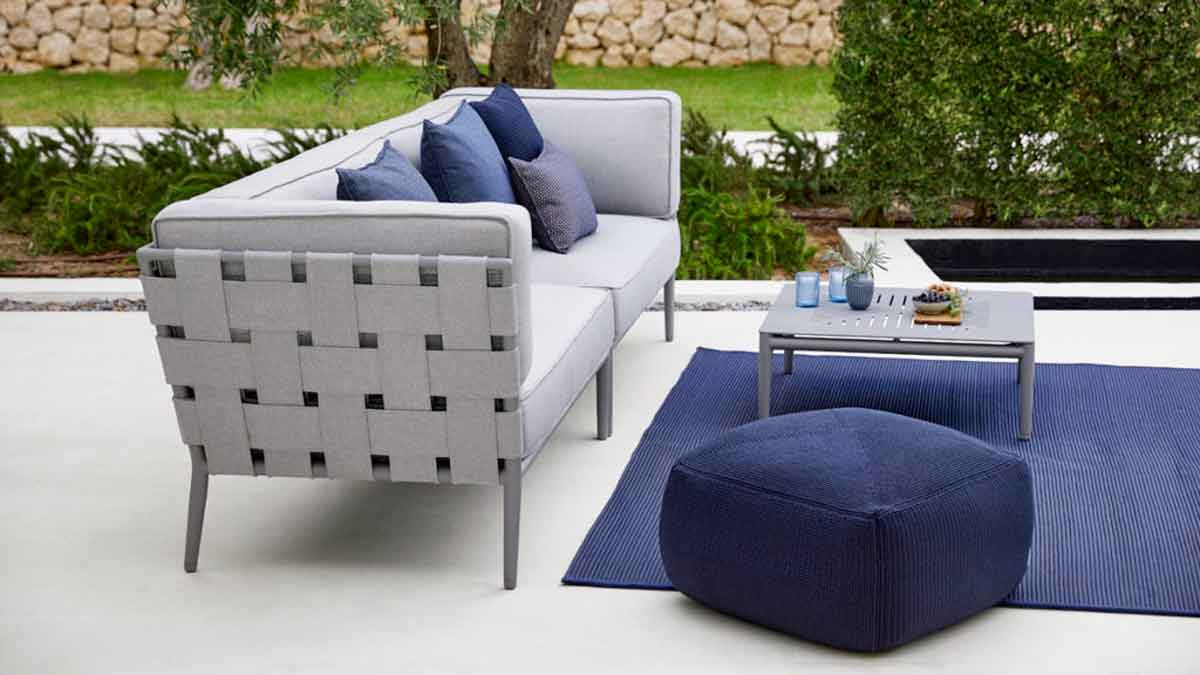Durable quality: weatherproof materials for outdoor furniture