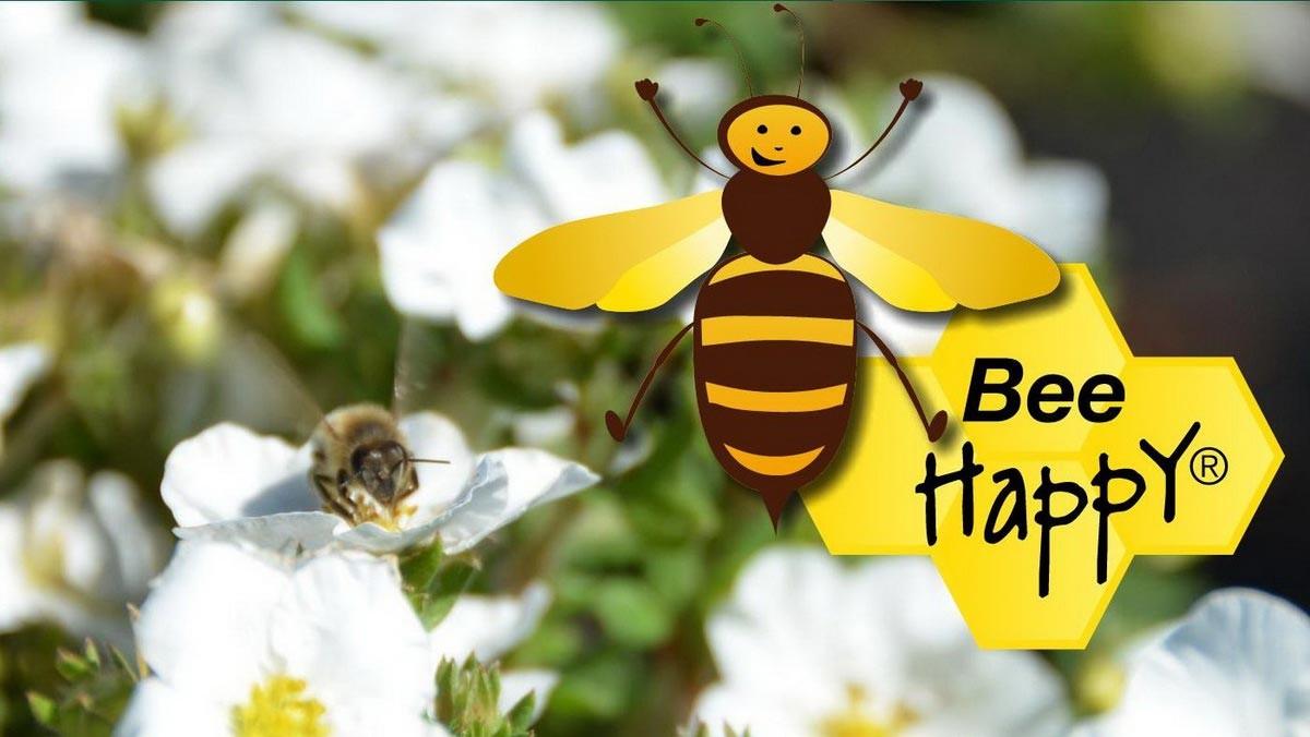 """Auf der vergangenen spoga+gafa präsentierte das Unternehmen 'zu Jeddeloh Pflanzen' ihre Marke """"Bee Happy"""". – Foto: zu Jeddeloh"""