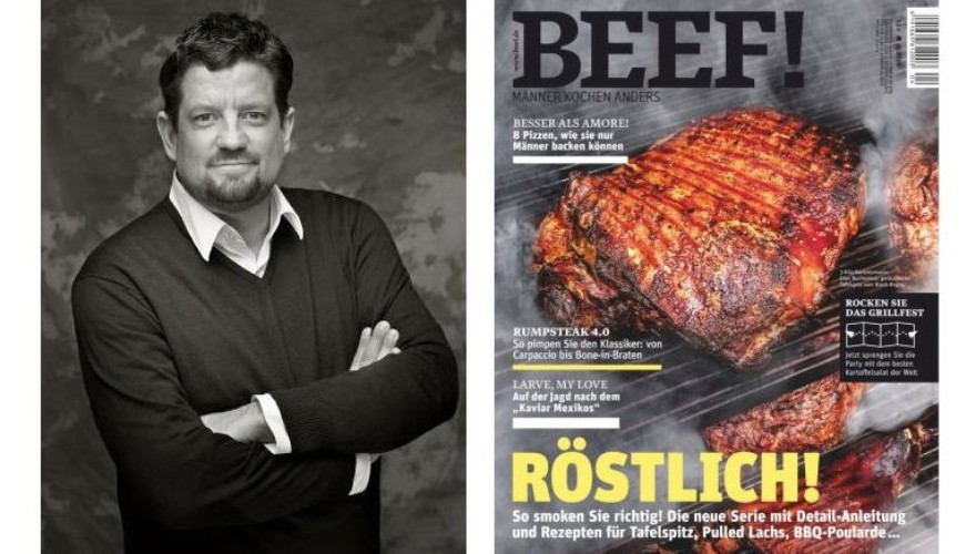 Jan Spielhagen, Chief Editor BEEF! & Cover - Photo: BEEF!