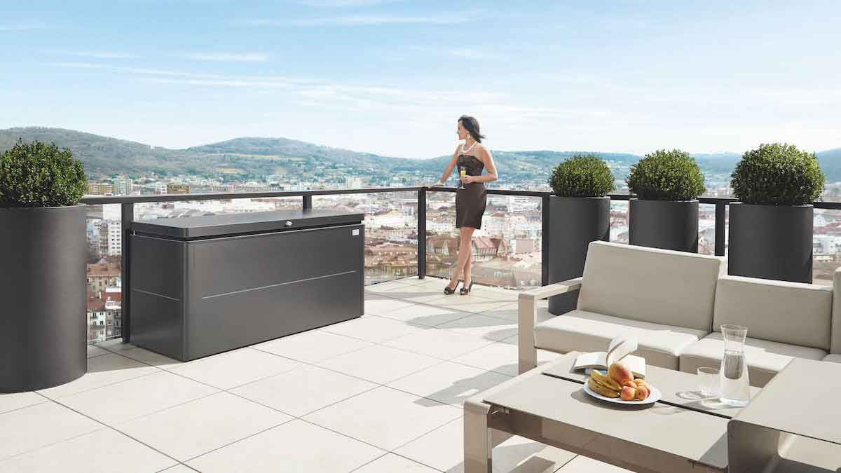 """LoungeBox"" for the terrace from © Biohort GmbH"