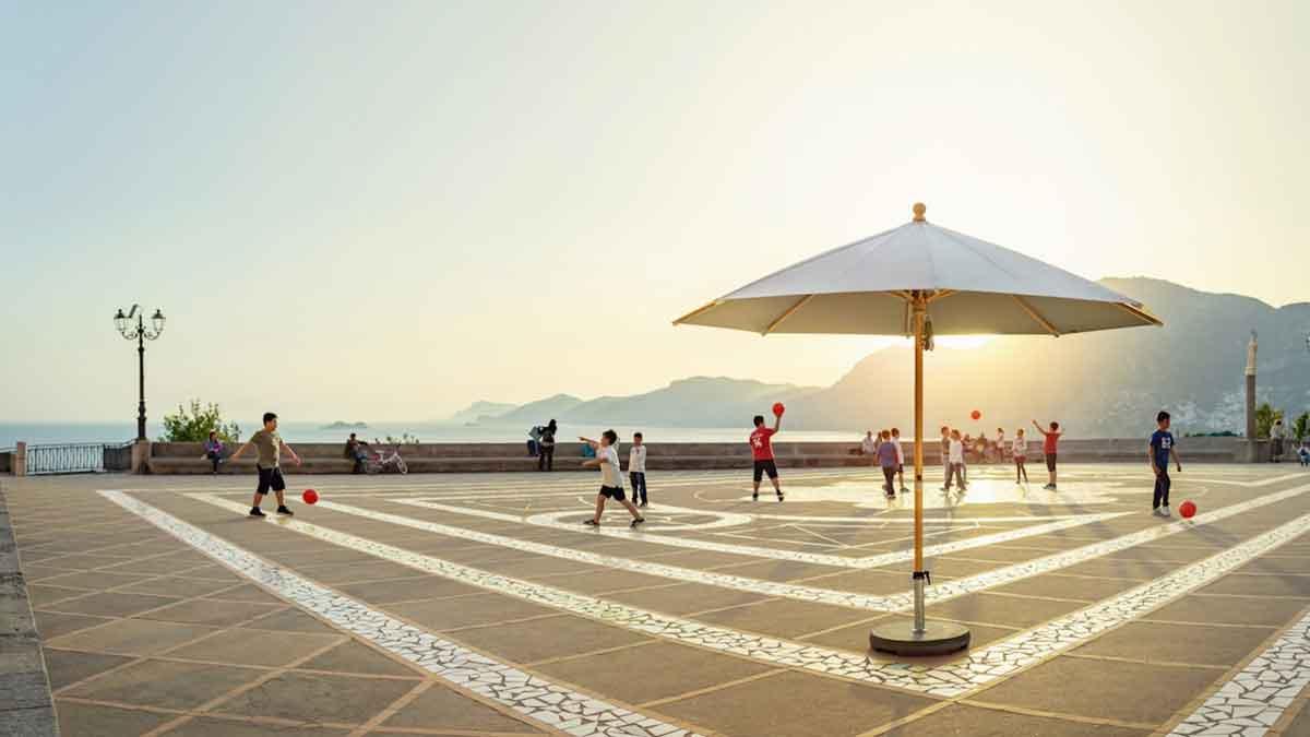 """Sonnenschirm """"Piazzino"""" von © Glatz AG"""