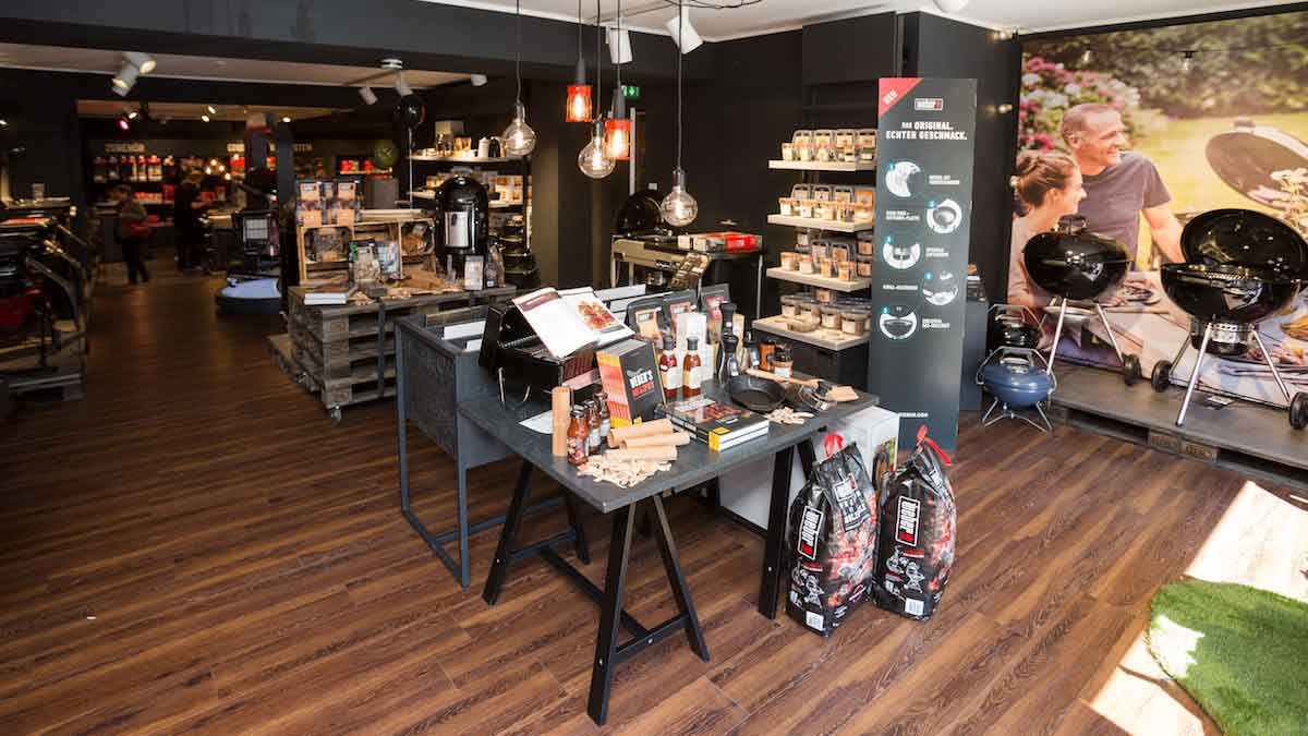 Special experience: BBQ and Concept stores