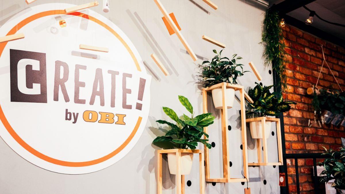 CREATE! by OBI Store in Köln © OBI