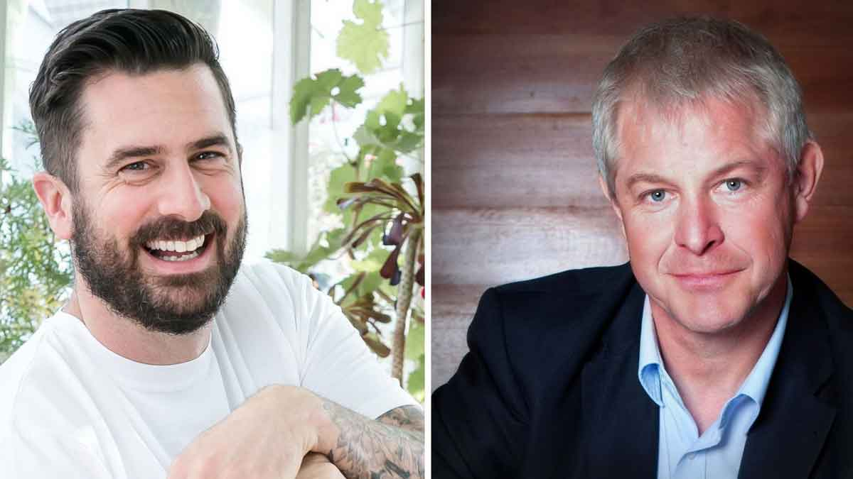 v.l.: Michael Perry (Mr Plant Geek) und Karl-Heinz Dautz (Zielcoach) – Foto: Werkfotos