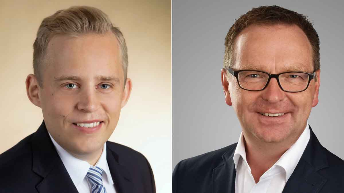 F.t.l.: Philipp Hoog (Dr. Wieselhuber & Partner) and Lutz Schnalke (LIDIS-Team) – Photo: TASPO