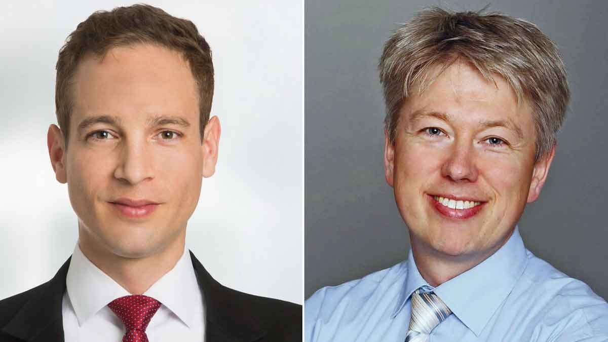 v.l.: Dr. Johannes Berentzen (Dr. Wieselhuber & Partner) und Thomas Buchenau (Intratuin) – Foto: Werkfotos
