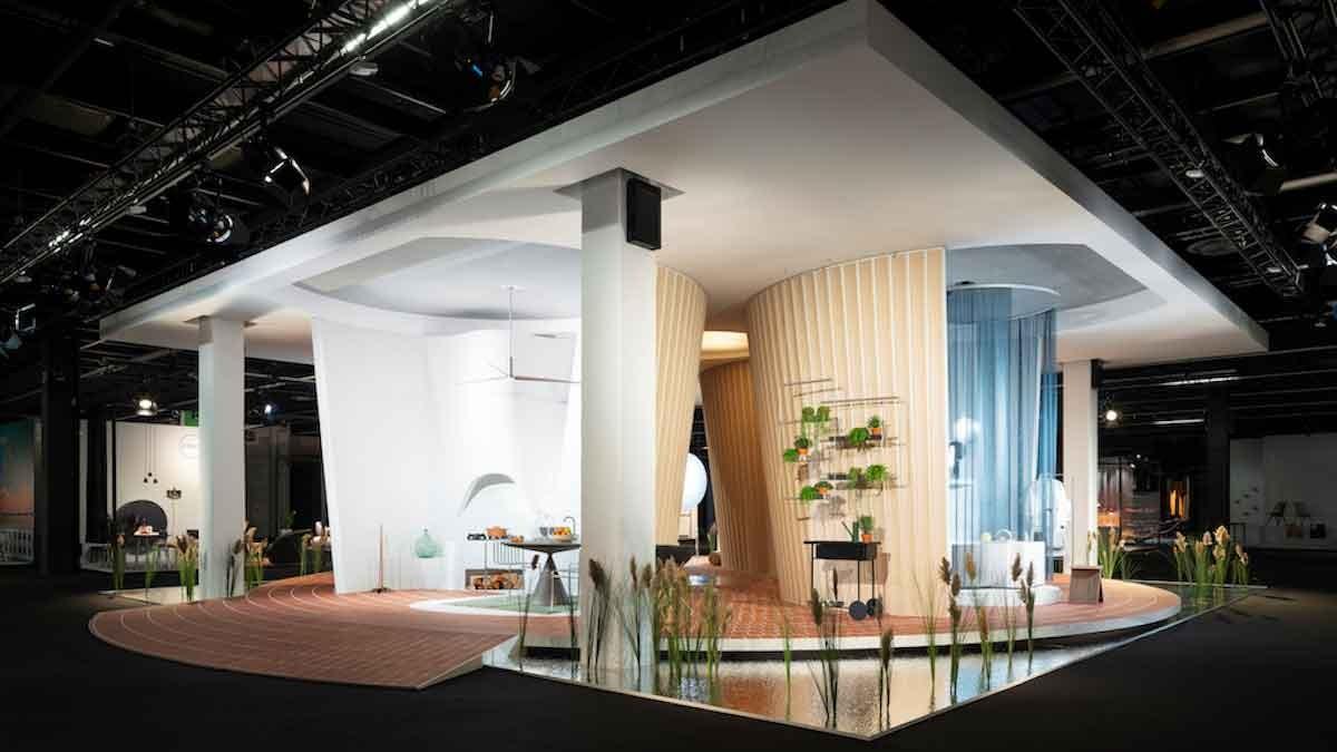 """""""Das Haus"""" von MUT Design auf der imm cologne 2020 © Koelnmesse"""