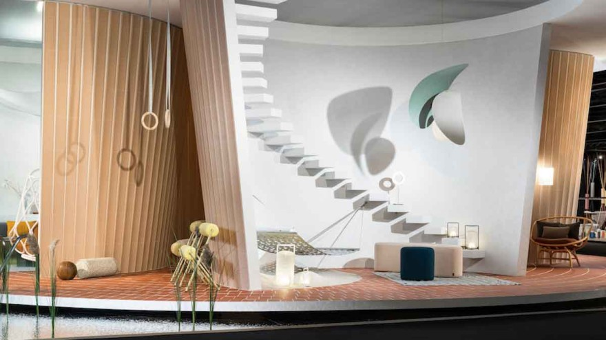 """""""Das Haus"""" by MUT Design at imm cologne 2020 © Koelnmesse"""