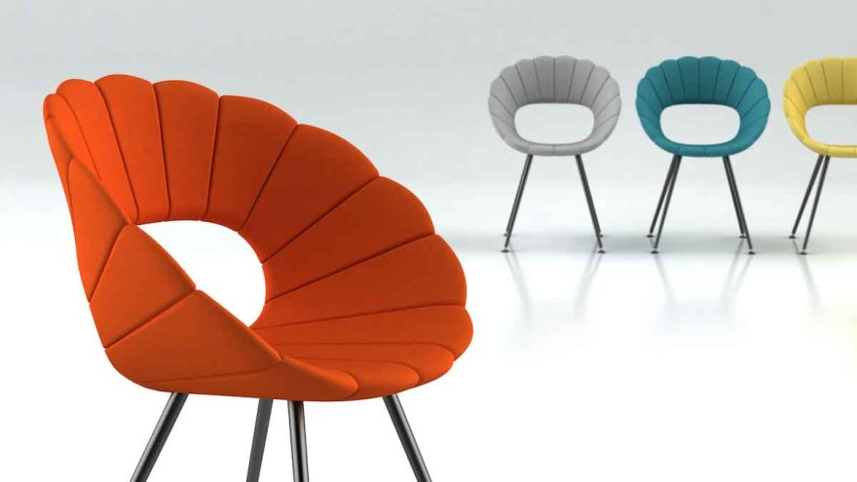 """Flower"" chair (design Martin Ballendat) © Tonon"