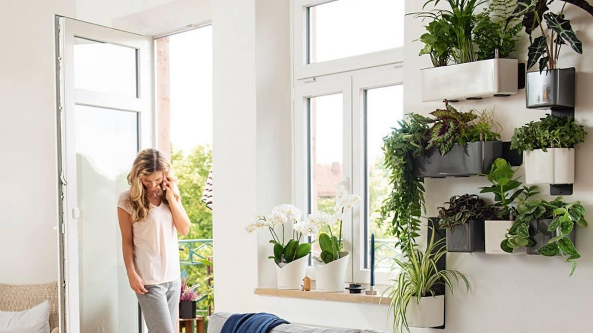 Indoor gardening deco trend