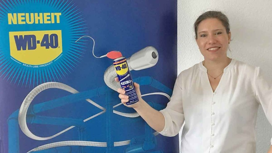 Sonja Koschani, Trade Marketing Manager der WD-40 Company Ltd. - Foto: WD-40