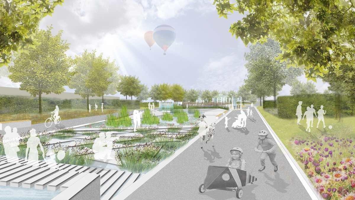 Landesgartenschau Ingolstadt 2020: Wassergärten, © Därr Landschaftsarchitekten