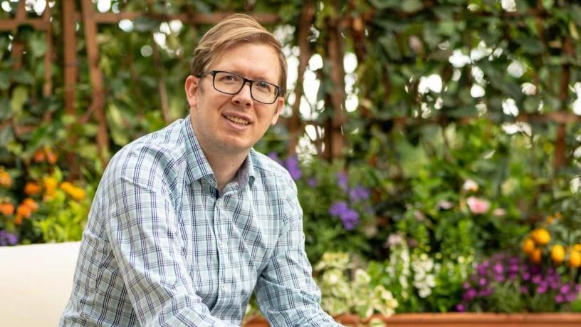 Zoltán Mihalik, Sales and Marketing Manager bei Lyra Florae Kft. und Geschäftsinhaber von Terasz Dekor