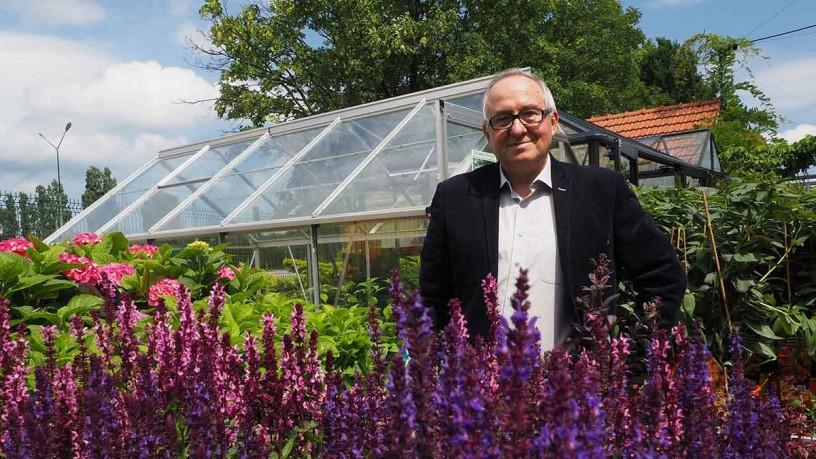 Mr. Mirosław Łakomiec, the President of the Polish Garden Centers Association (PSCO)