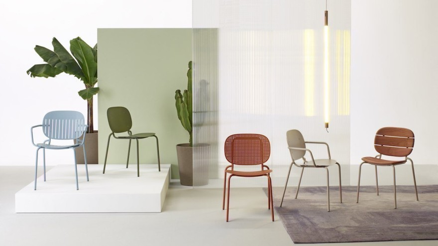 For mixing and matching: SI-SI chair family by Scab Design (design: Meneghello Paolelli Associati), © Scab Design