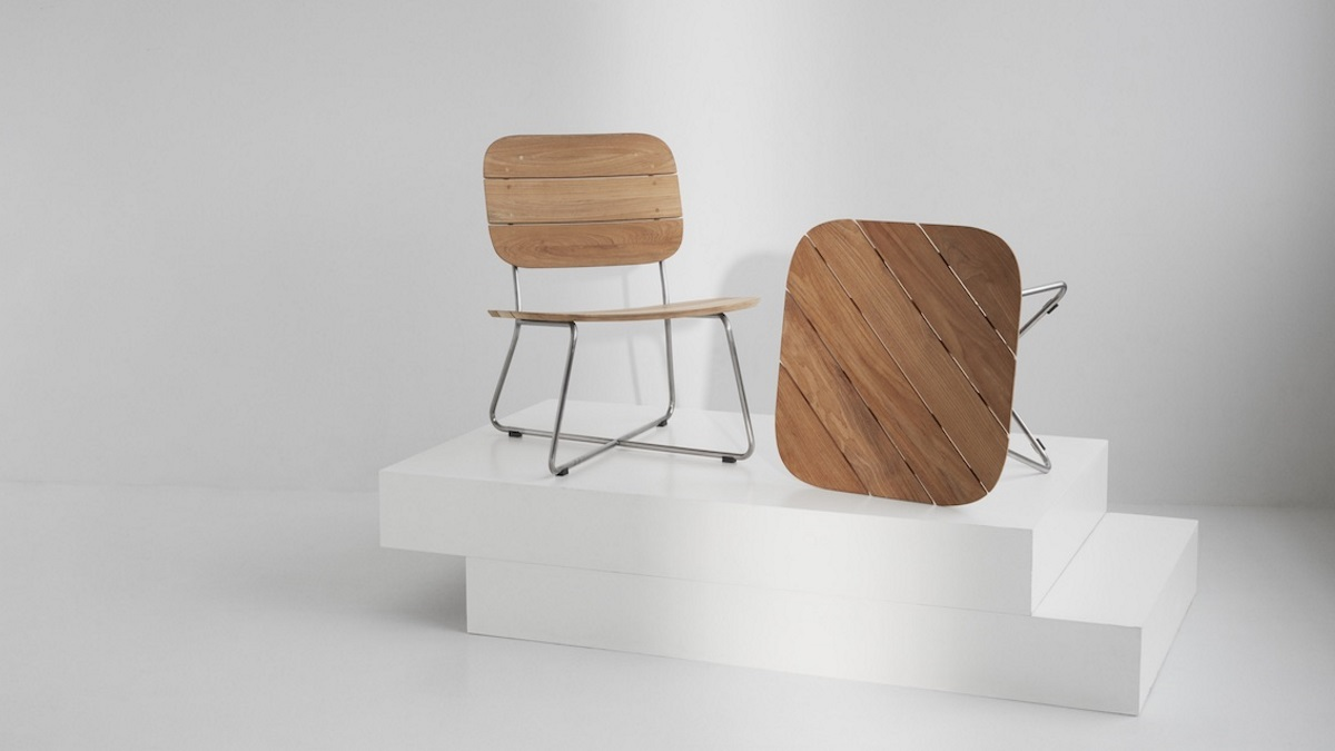 Current Lilium collection (design: BIG) by Skagerak with FSC-certified wood © Skagerak
