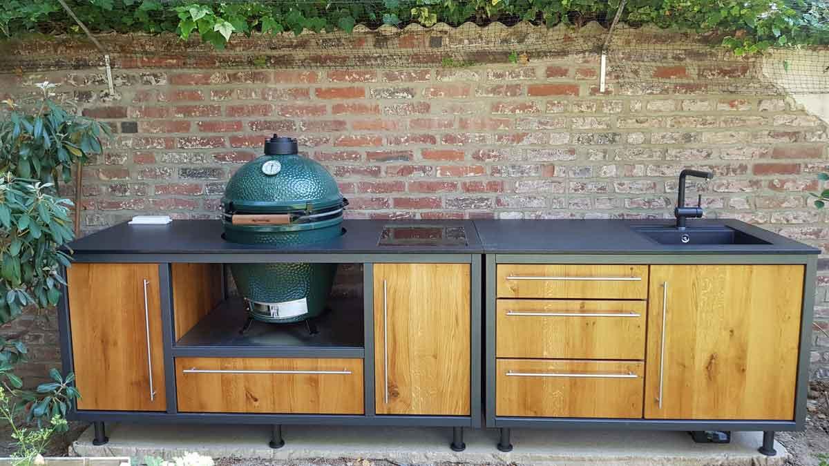 Outdoor Kitchen by PROKS